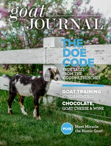 Goat Journal MarchApril 19 Cover