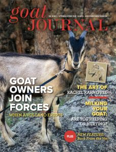 Goat Journal SeptOct 2018 COVER