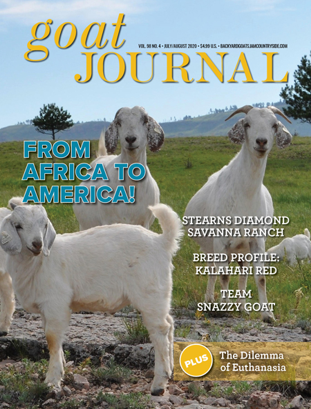 Goat Journal July/August 2020